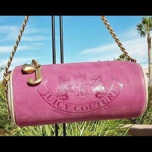 VINTAGE Juicy Couture leather barrel bag